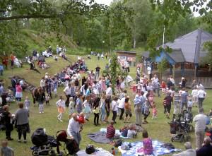 Midsommar parken 2009